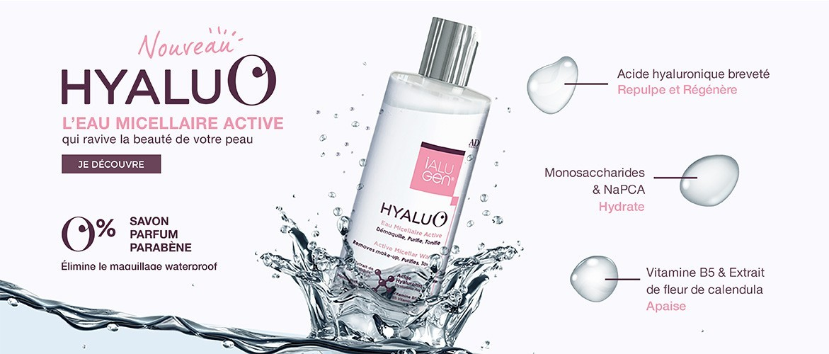 HYALU'O EAU MICELLAIRE ACTIVE