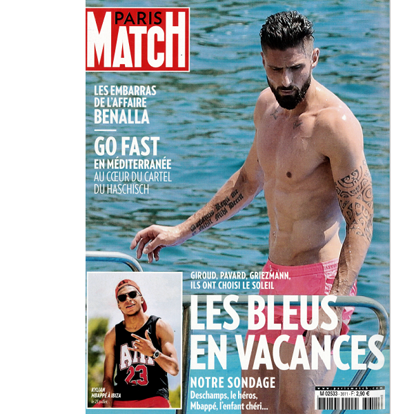 Sublim Night dans PARIS MATCH